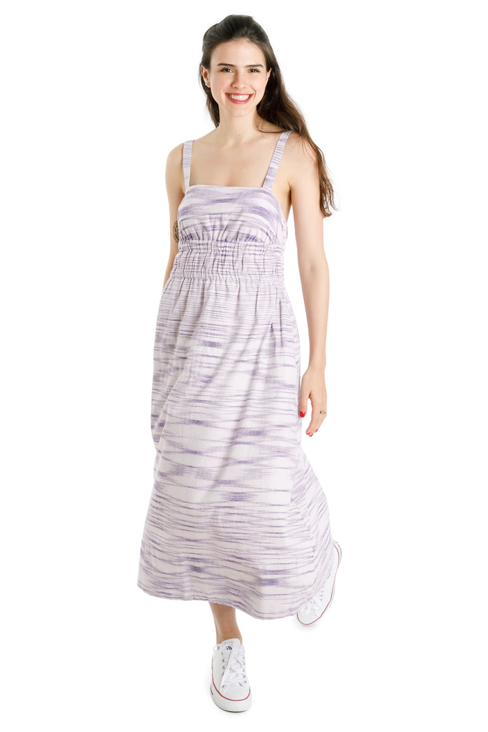 ikat maxi dress - Virtue + Vice