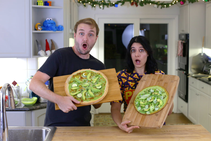 New Year, New Pizzas: The GREEN Pizza Challenge!