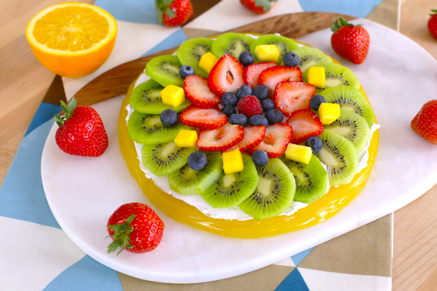 JELLO Fruit Pizza