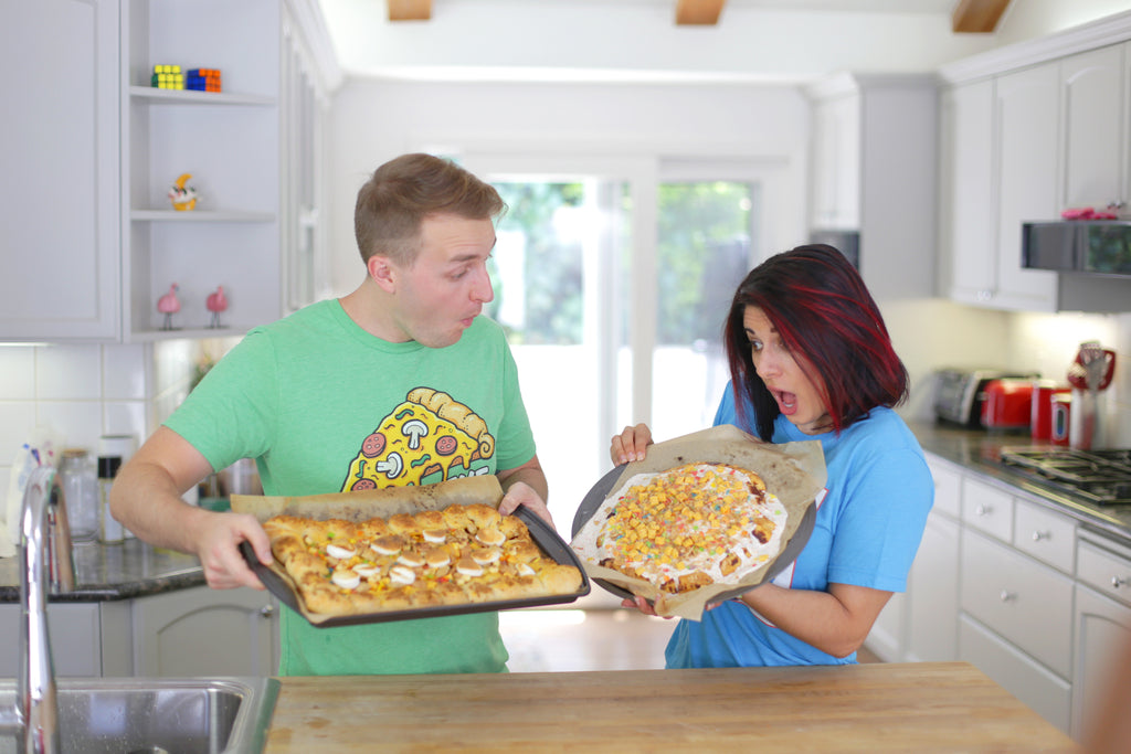 Cereal Pizza Challenge