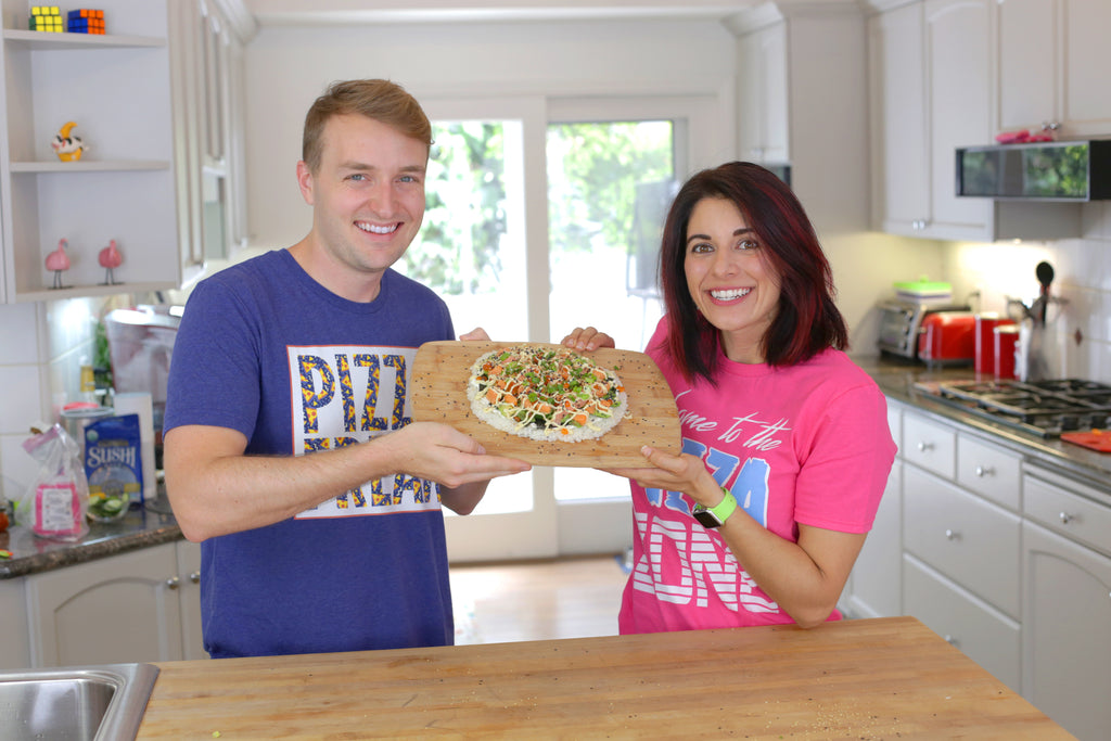 Sushi Pizza on Eat The Pizza Show