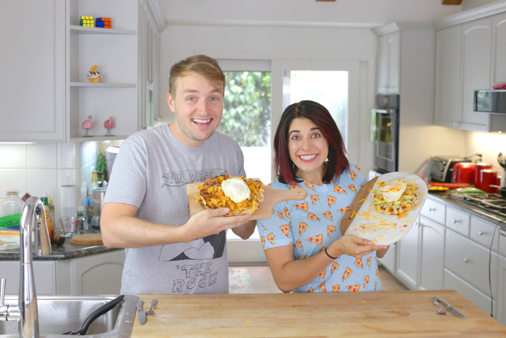 Breakfast Pizza Challenge