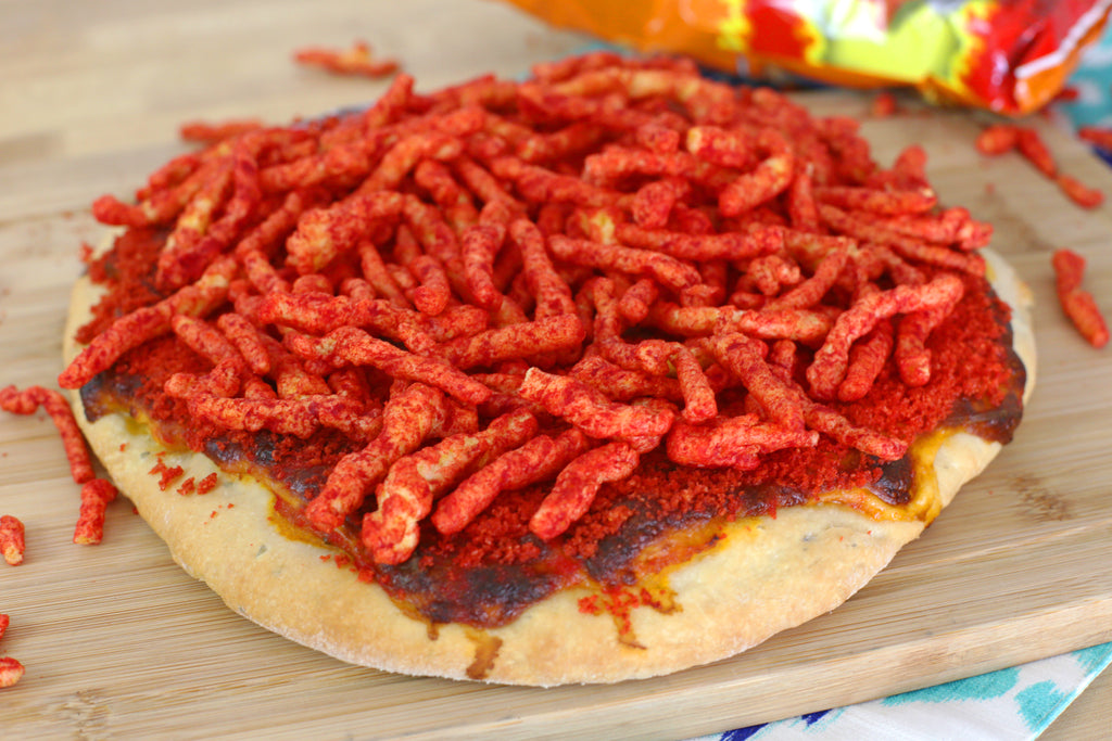 Hot Cheetos Pizza Recipe
