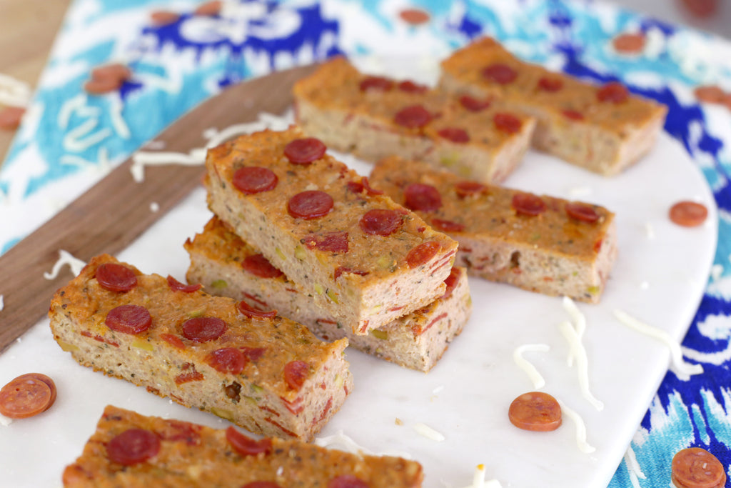 Pizza Protein Bar