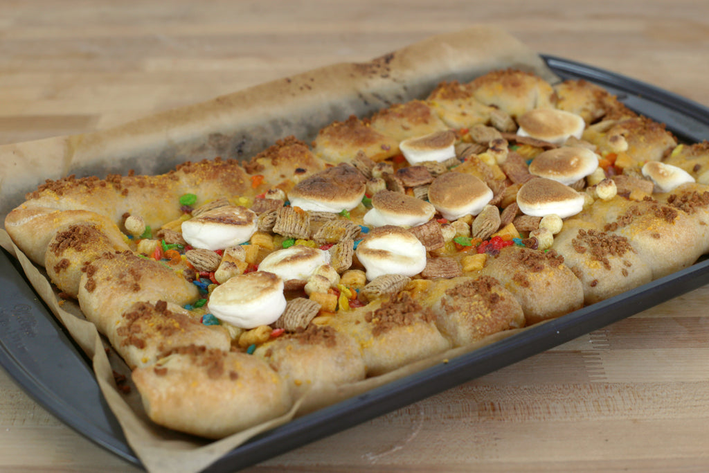 Marshmallow Dessert Pizza
