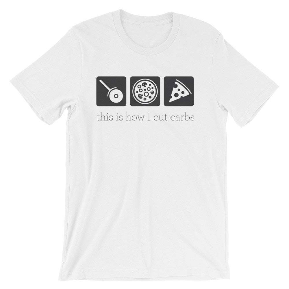 Carb Cutting Pizza T-Shirt