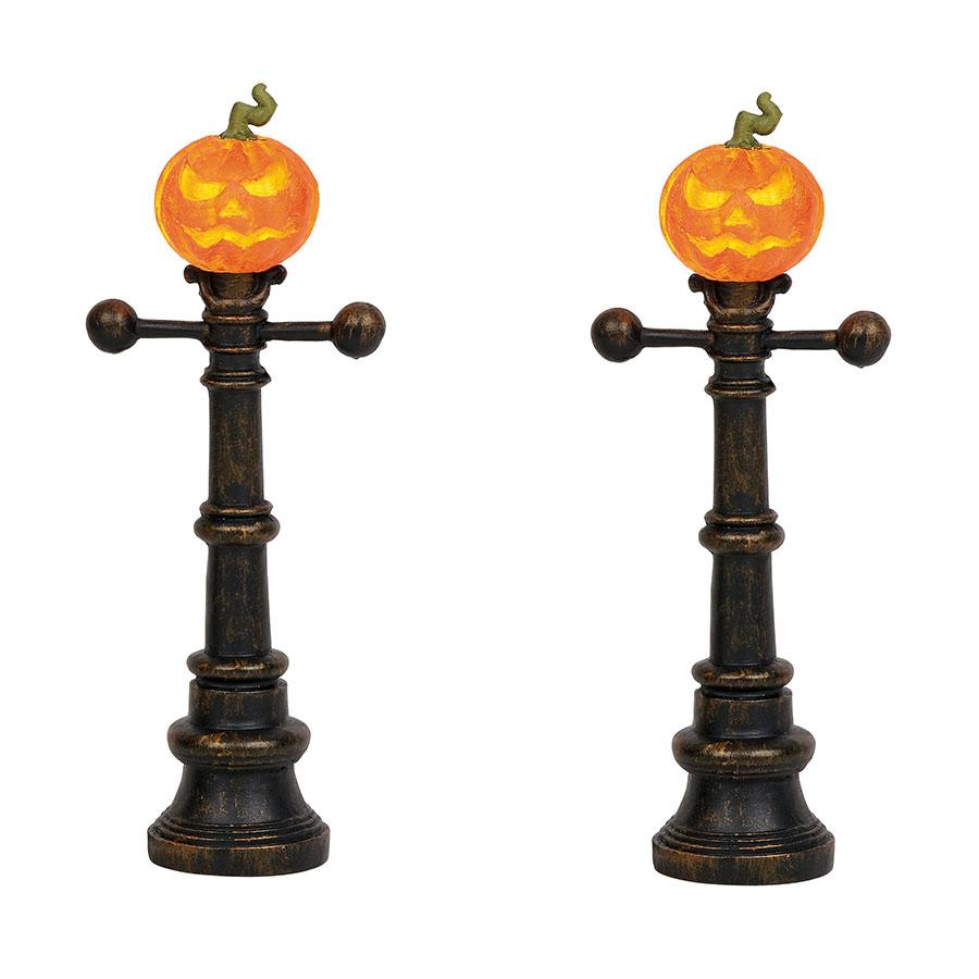Halloween Street Lamps department 56