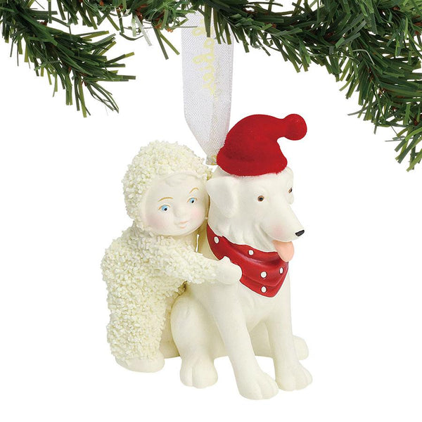 Best friends ornament snowbabies