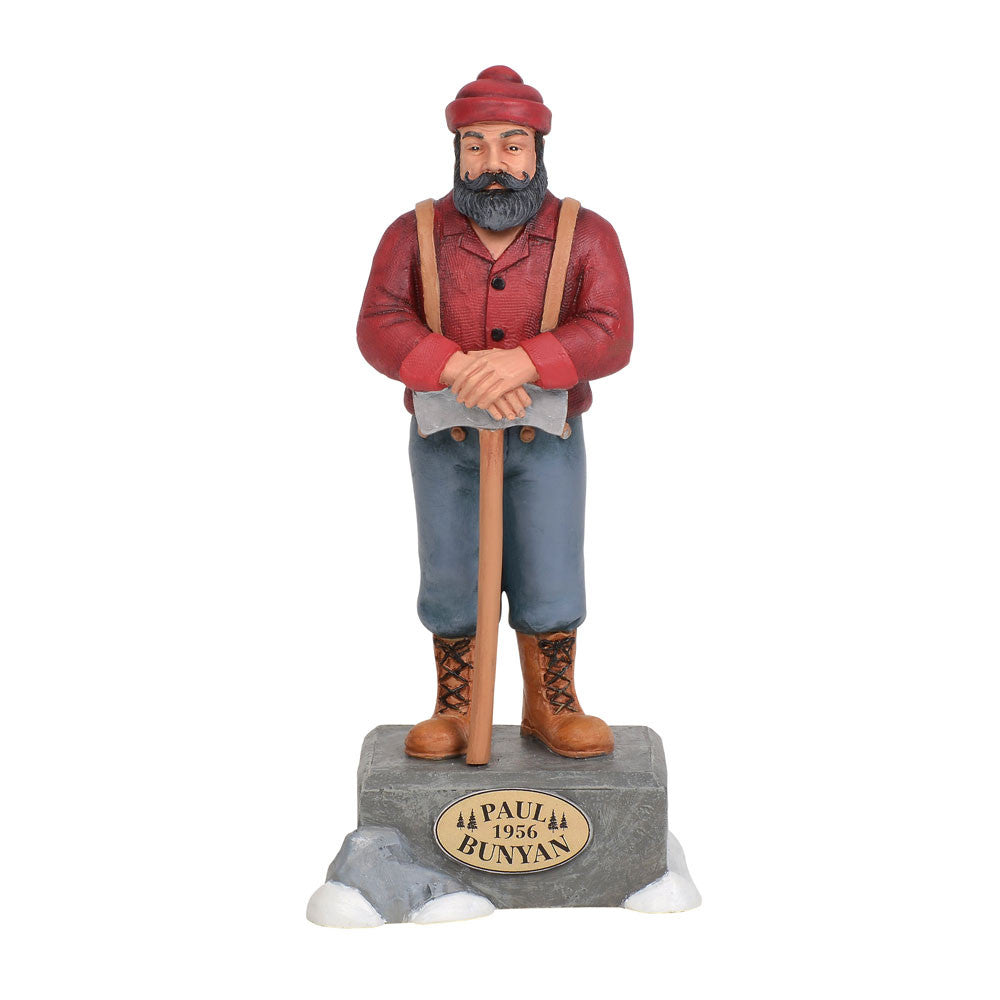 Paul Bunyan statue department 56