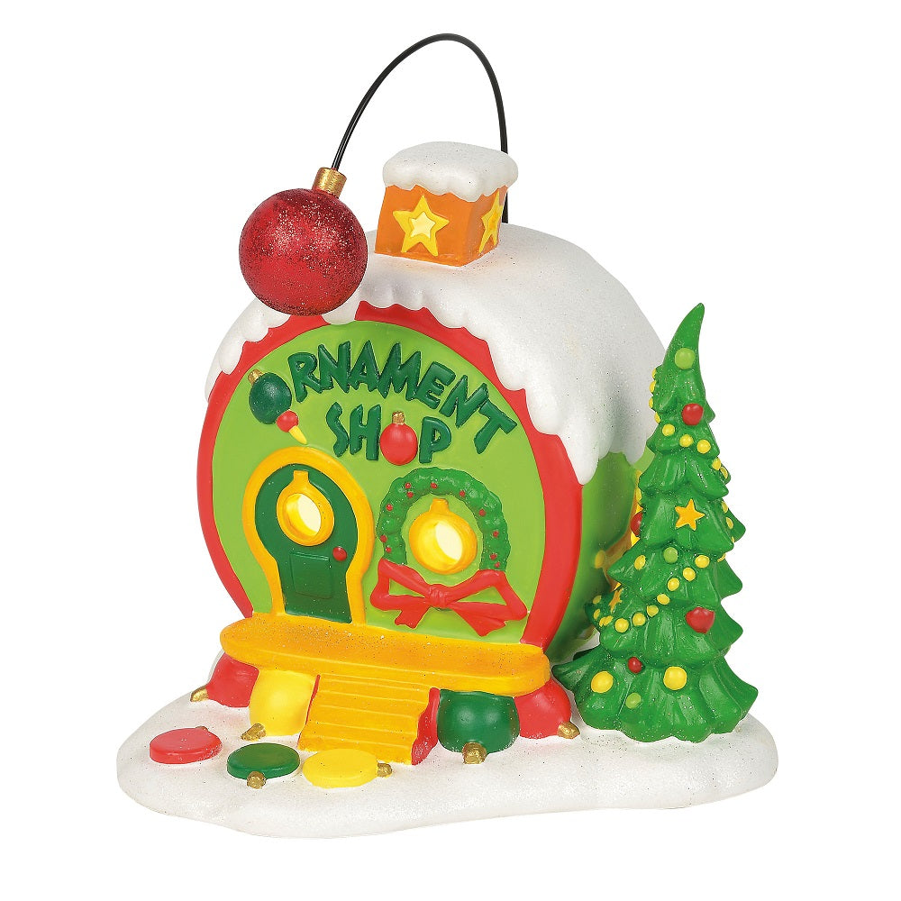 The grinch ornament shop
