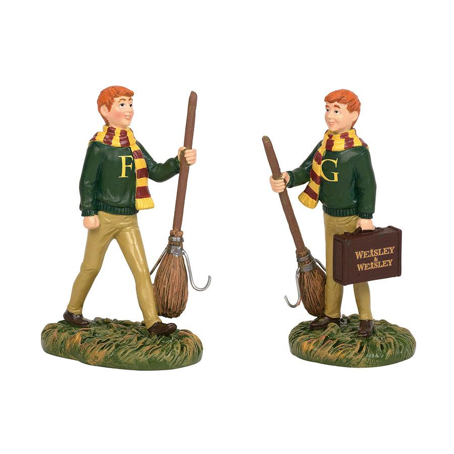 Fred and George Weasley department 56
