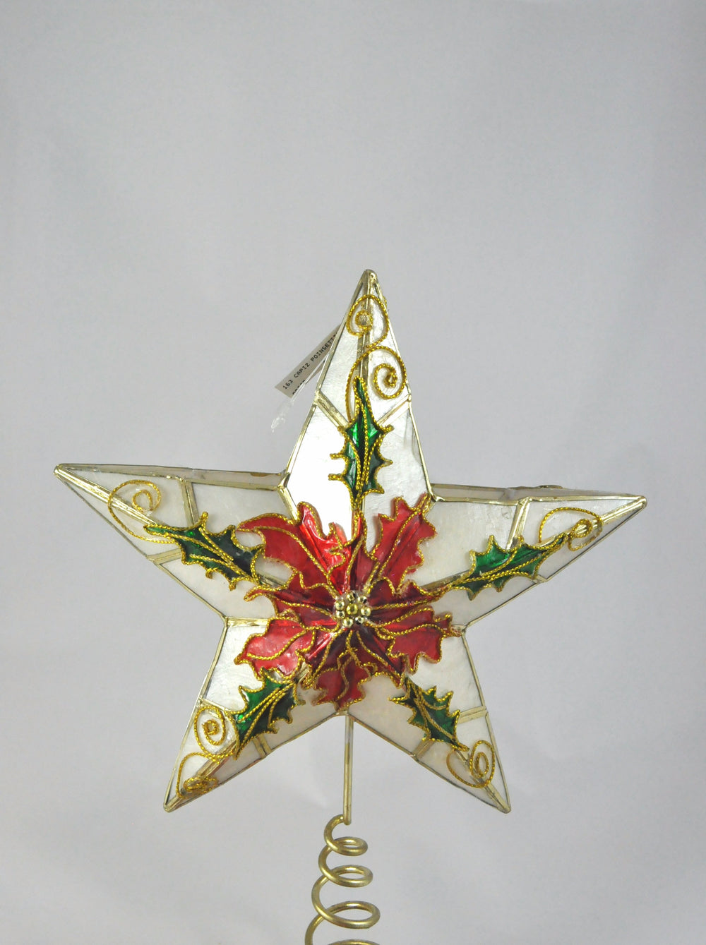 Poinsettia Tree Topper