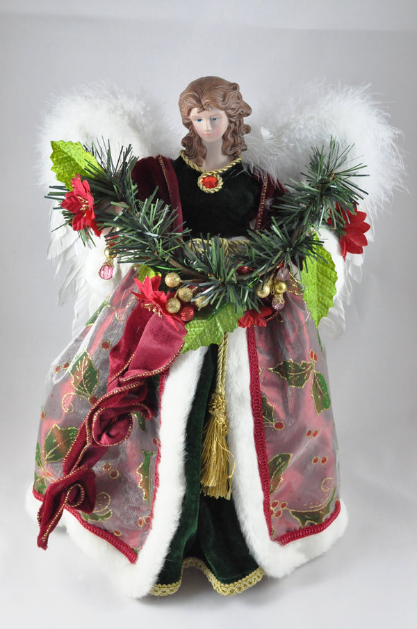 Red Dress Angel Tree Topper