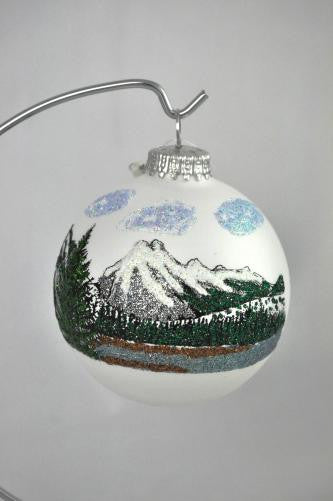 Mt Rundle Glass Ball