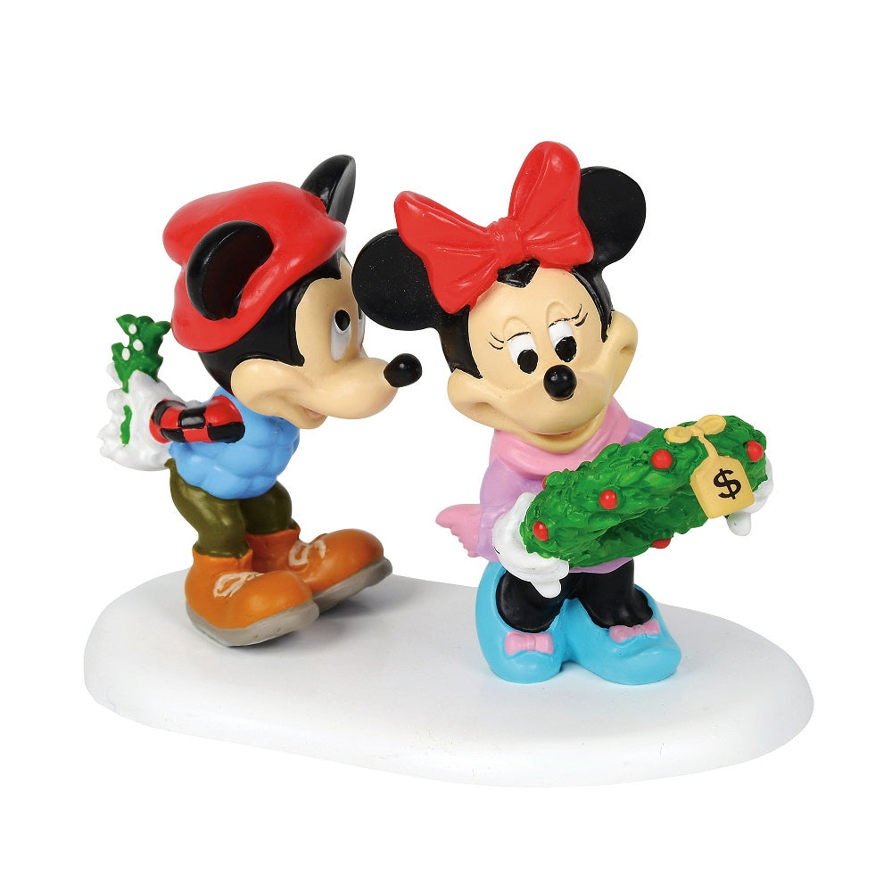 Mickeys mistletoe surprise d56