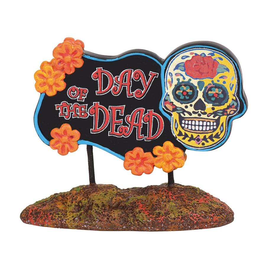 Day Of The Dead sign department 56