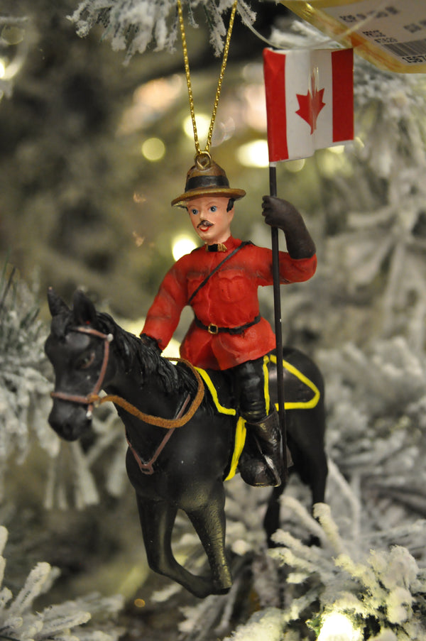 RCMP on Horse