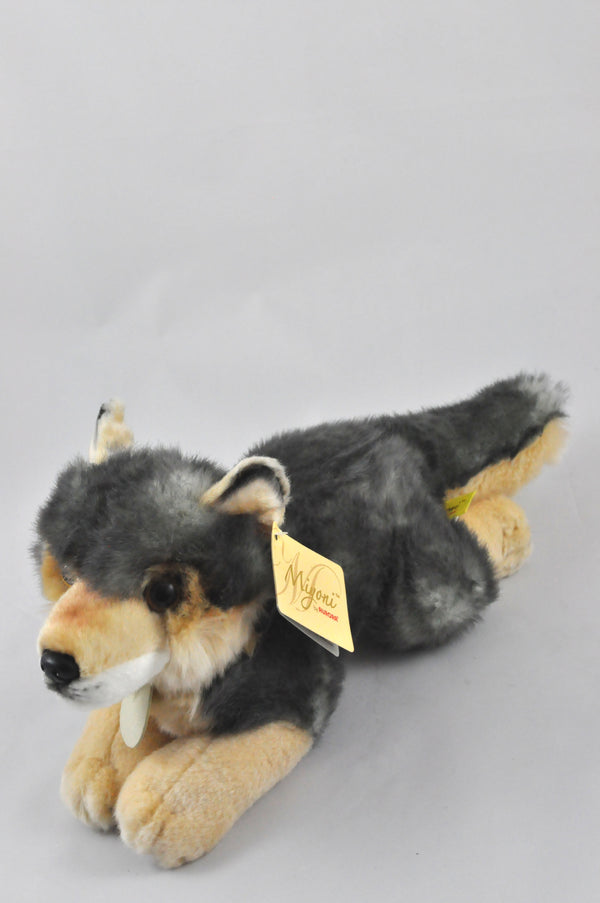 wolf stuffed toy