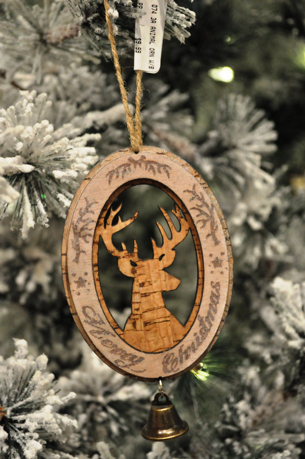 Deer bell Ornament