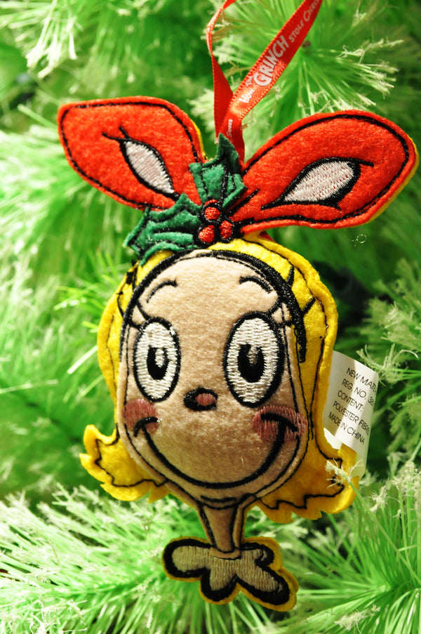 Felt Cindy Lou Ornament