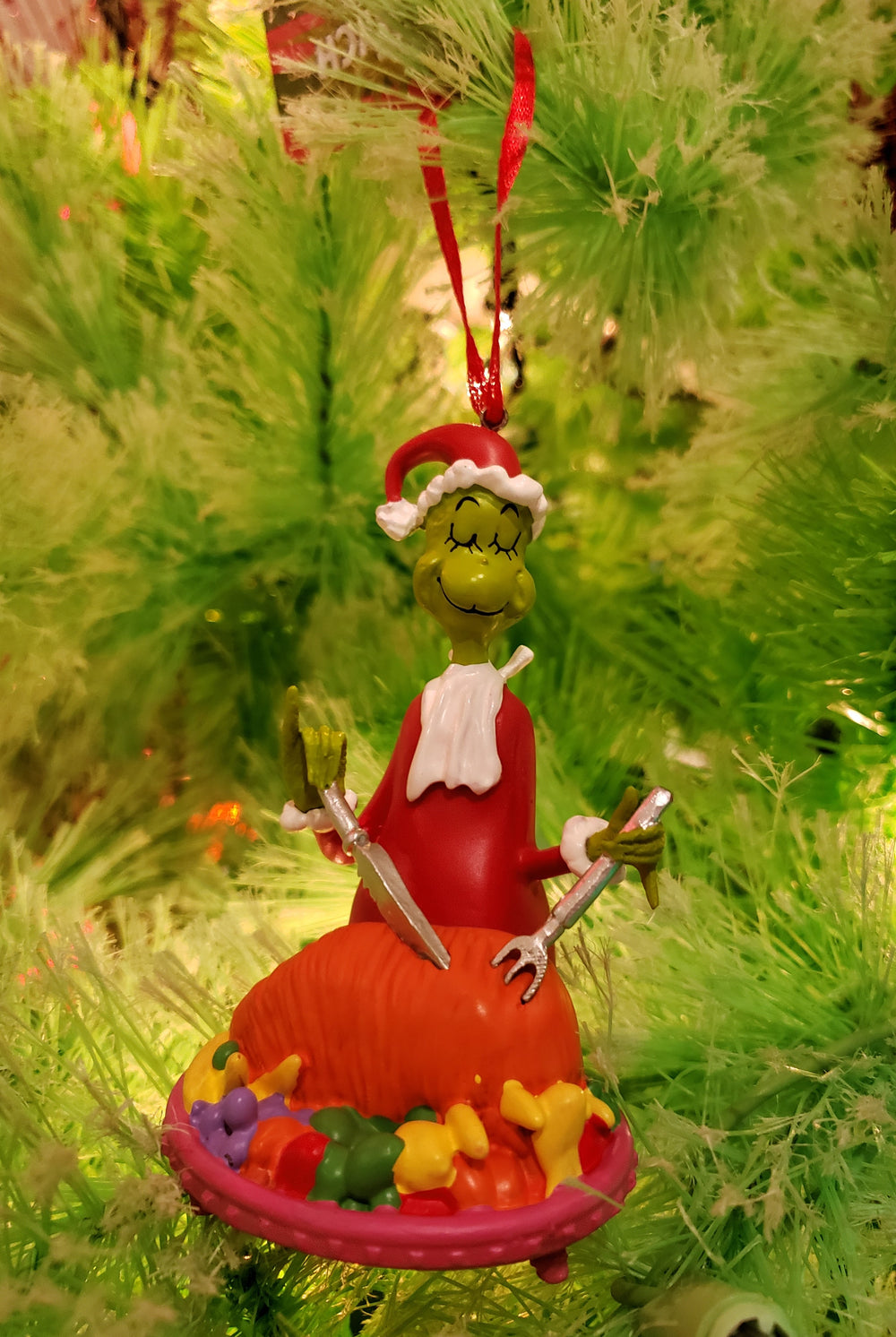 Grinch Roast Beast Ornament
