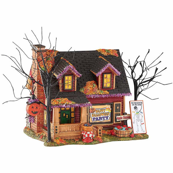 halloween party house department 56