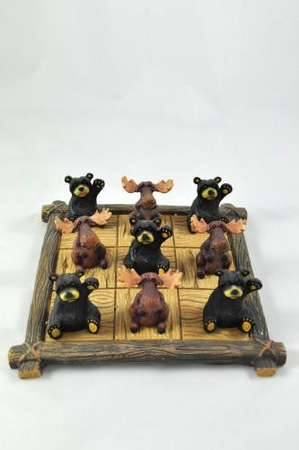 Bear and Moose Tic-Tac-Toe