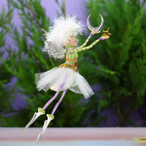 Moon & Stars Fairy Ornament