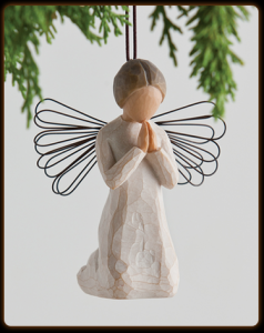 Angel Of Prayer Ornament