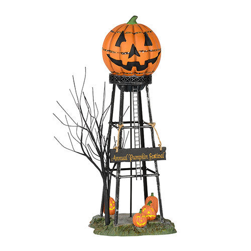 Halloween water tower department 56