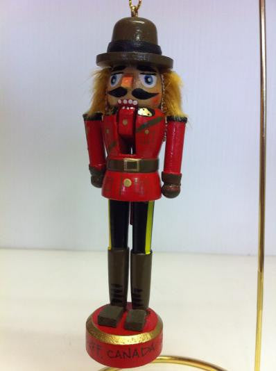 RCMP Nutcracker Ornament