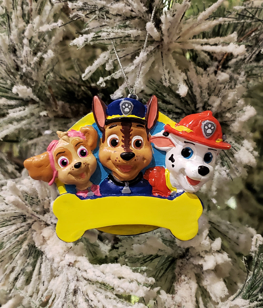 Paw Patrol Personalized Ornament