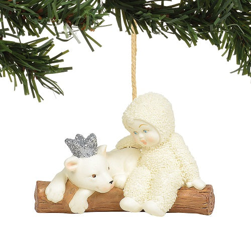 peaceful kingdom lion ornament snowbabies