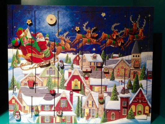 Santa/Sleigh Advent Calender