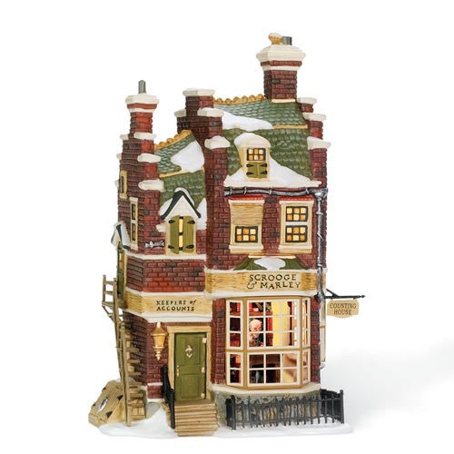 scrooge and marley counting house department 56