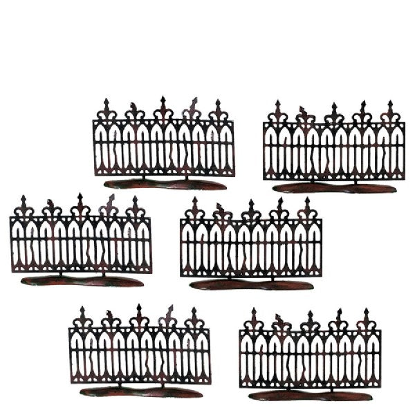Spooky Wrought Iron Fence