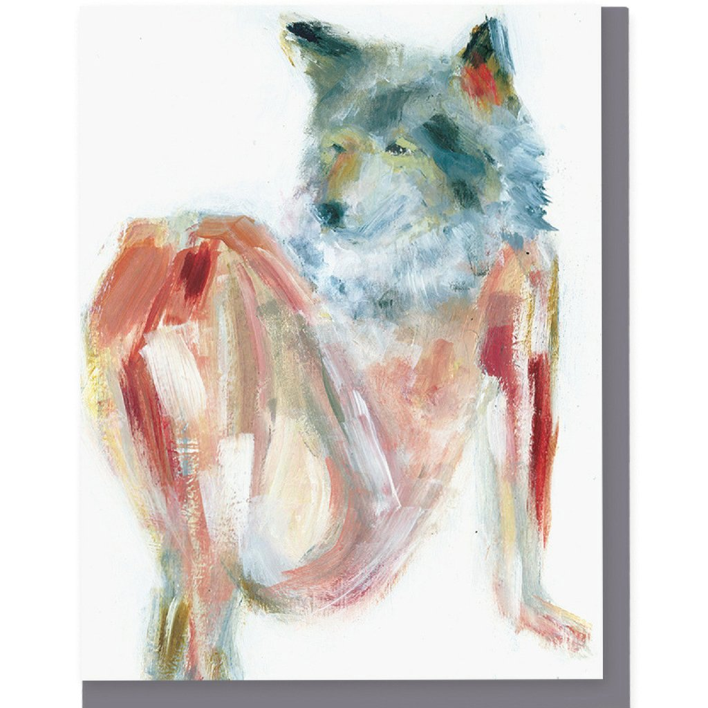 Wolf Stretch Card