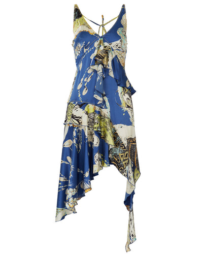 JUST CAVALLI HALTER DRESS - WOMEN'S SIZE IT44