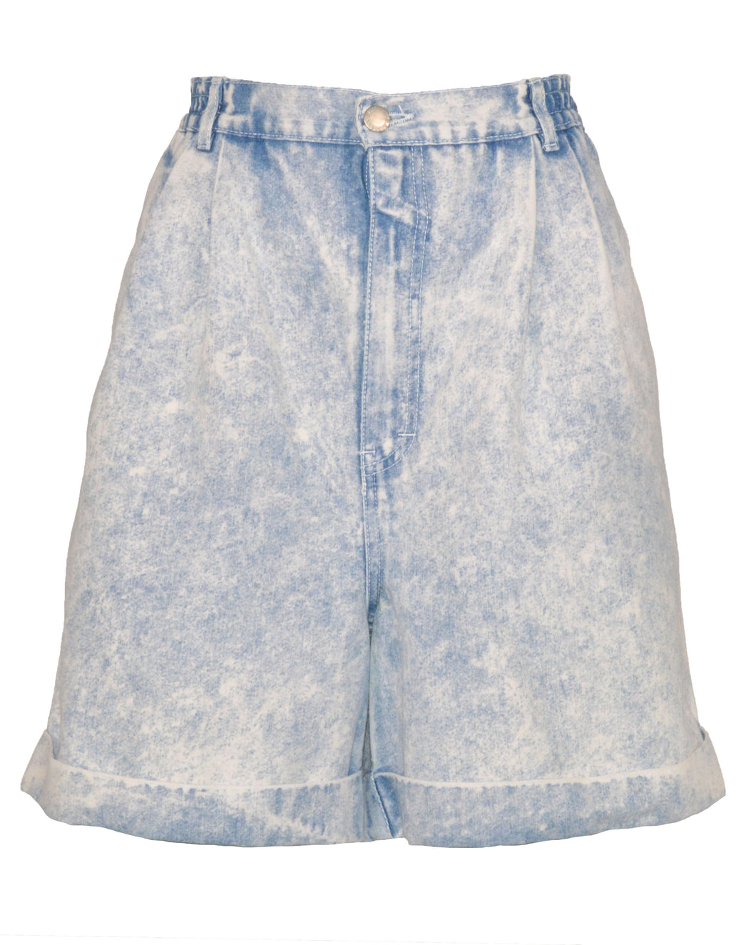 ACID WASH SHORTS - WOMEN'S SIZE 16