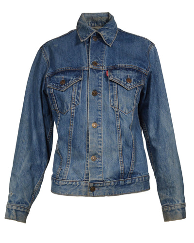 BIG E LEVI'S DENIM JACKET - MEN'S SIZE XS/S