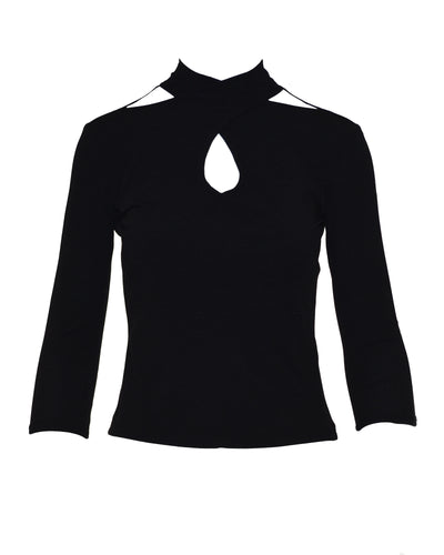 CUT OUT TOP - WOMEN'S SIZE M
