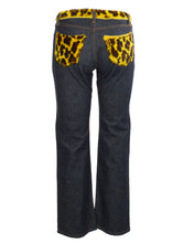 D&G LEOPARD POCKET DENIM - WOMEN'S SIZE IT42