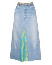 BROCADE DENIM MAXI - WOMEN'S SIZE 10