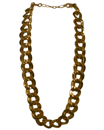 DOUBLE LINK GOLD CHAIN