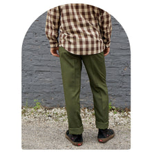 OLIVE TROUSER - SIZE 34