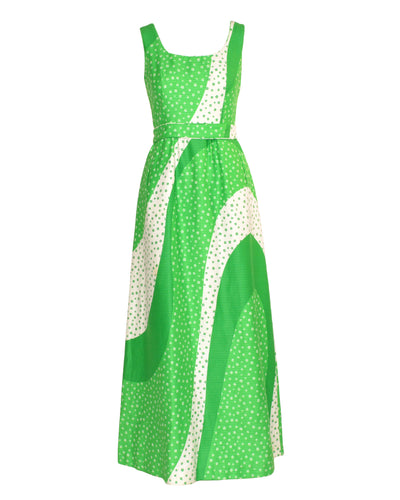 EMERALD MAXI GOWN - WOMEN'S SIZE S