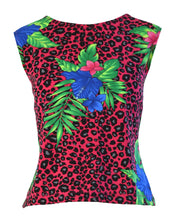 TROPICAL MEOW TWO PIECE - WOMEN'S SIZE S/L