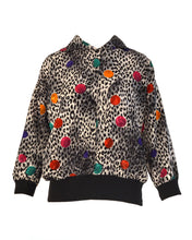 MEOW POLKA DOT PULLOVER - WOMEN'S SIZE M