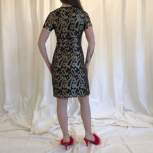 SHIMMER PAISLEY DRESS - WOMEN'S SIZE XS