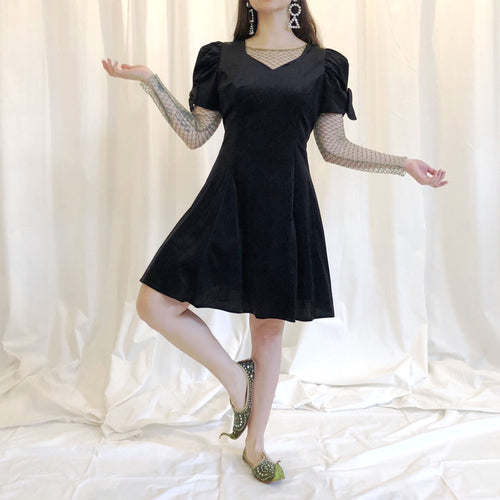 VELVET PARTY DRESS - WOMEN'S SIZE M